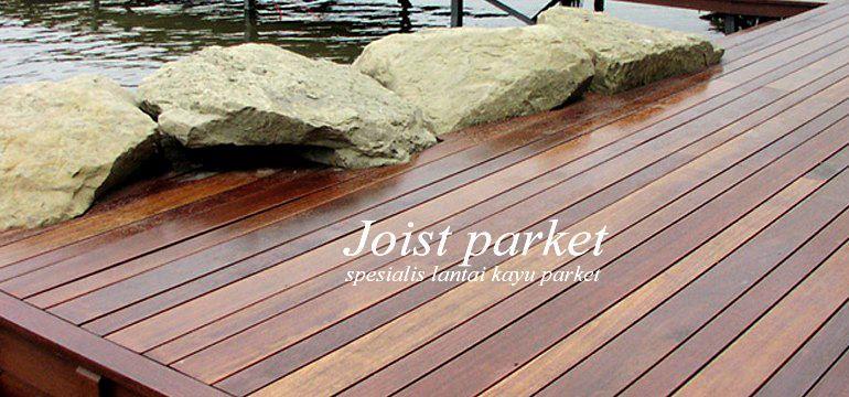 lantai kayu bangkirai-decking